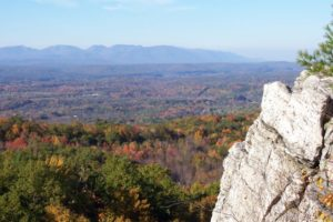 Catskill Mountain View from Bonticou Crag